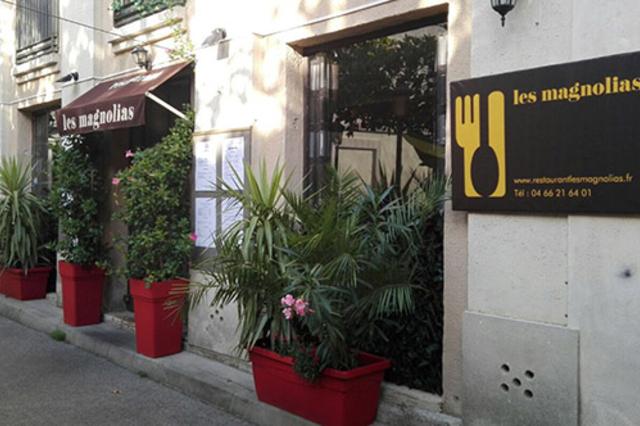 Les Magnolias à Nîmes , restaurant fait maison , annonce les nouveautés du restaurant à découvrir en centre-ville.(® facebook les magnolias)
